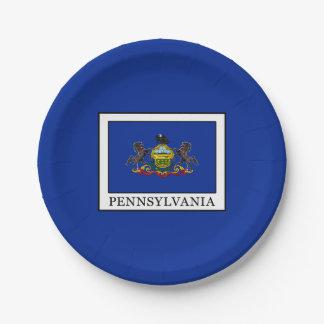 Pennsylvania Paper Plate