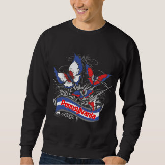 Pennsylvania Patriotism Butterfly Sweatshirt