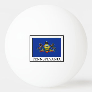 Pennsylvania Ping Pong Ball