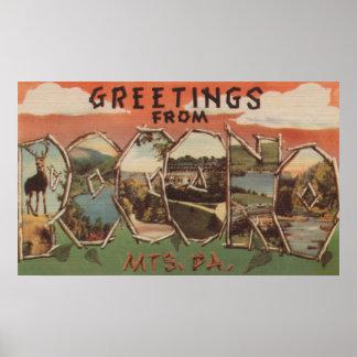 Pennsylvania - Pocono Mountians Poster