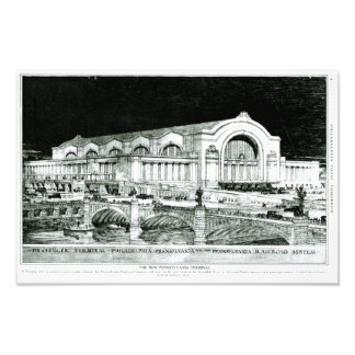 Pennsylvania Railroad 30th Street Station Art Photo