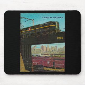 Pennsylvania Railroad Annual Report 1960 Mouse Pad