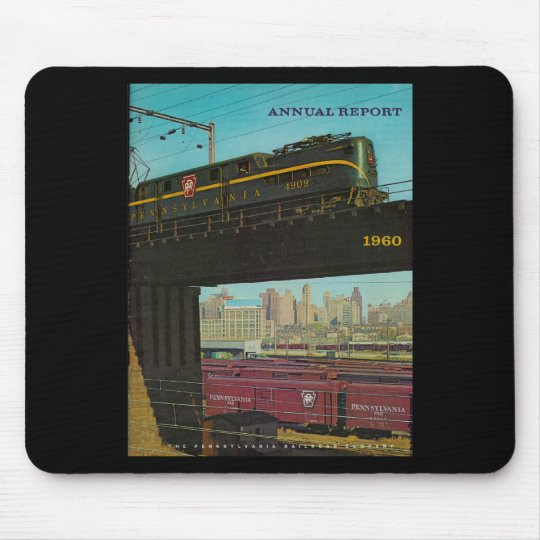 Pennsylvania Railroad Annual Report 1960 Mouse Pad