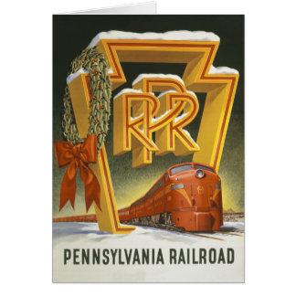 Pennsylvania Railroad Christmas Card