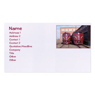 Pennsylvania Railroad E8A's Custom Business Cards