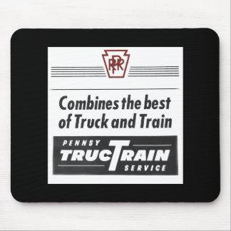 Pennsylvania Railroad TrucTrain Service Mouse Pad