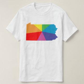 pennsylvania rainbow array t-shirts