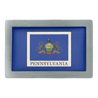 Pennsylvania Rectangular Belt Buckle