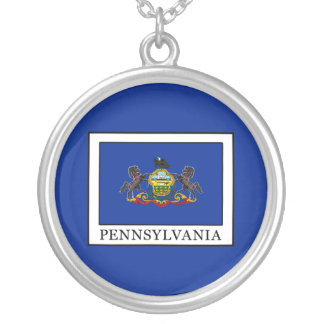 Pennsylvania Silver Plated Necklace