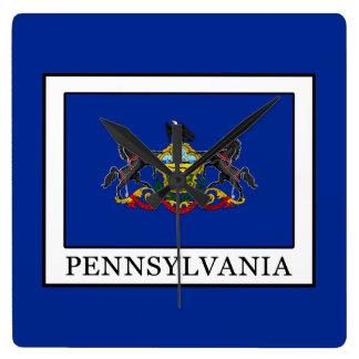 Pennsylvania Square Wall Clock