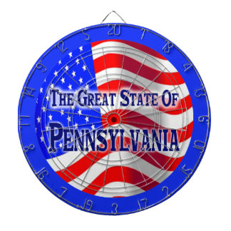 Pennsylvania State Dartboard