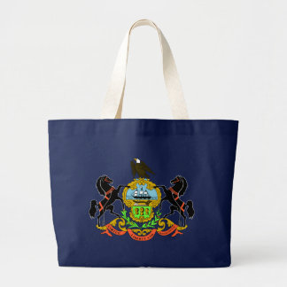 Pennsylvania State Flag blue bag