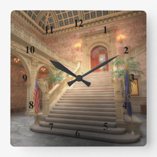 Pennsylvania State Matthew J. Ryan Building Square Wall Clock