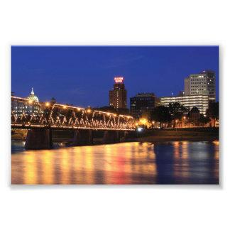 Pennsylvania State Walnut Street Bridge Photograph