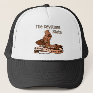 Pennsylvania The Keystone State Bird Trucker Hat