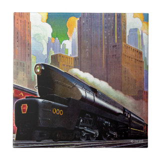 Pennsylvania Train by Unknown Tile