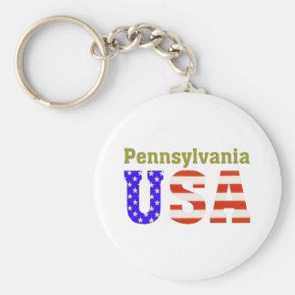 Pennsylvania USA! Keychain