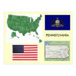 Pennsylvania, USA Postcard