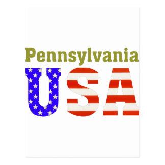 Pennsylvania USA! Postcard