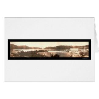 Pennsylvania Water Dam Photo 1911 Card