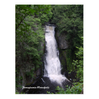 Pennsylvania Waterfalls Postcard