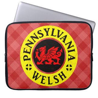 Pennsylvania Welsh American Laptop Cover