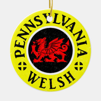 Pennsylvania Welsh American Ornament