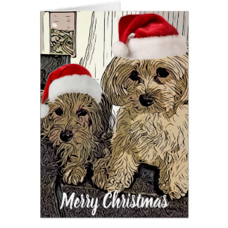 Penny and Copper Christmas Card