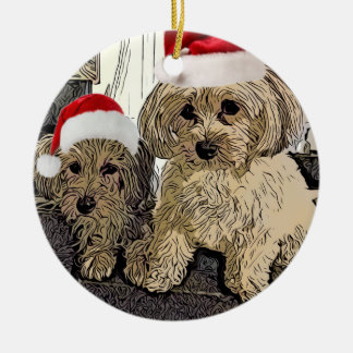 Penny and Copper Christmas Ornament