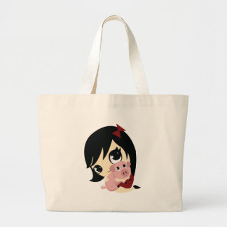 Penny and Snickerdoodle Large Tote Bag
