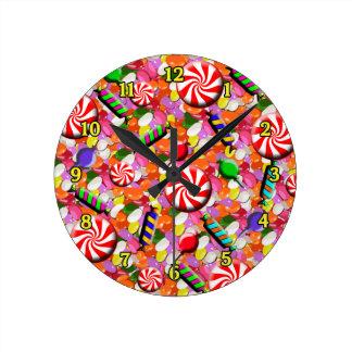 Penny Candy Wall Clock
