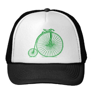 Penny Farthing - Grass Green Trucker Hat