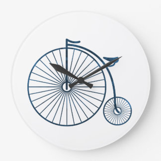penny farthing large clock