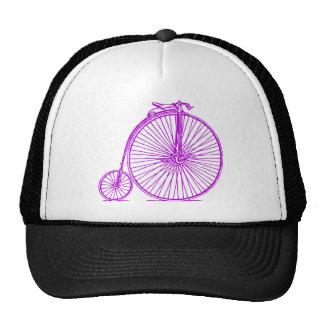 Penny Farthing - Purple Trucker Hat