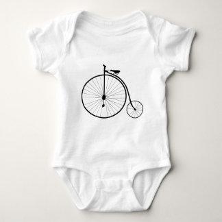 Penny Farthing Victorian Era Bicycle Baby Bodysuit