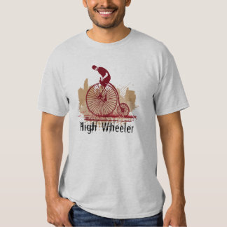 Penny Farthing  Vintage Bicycle Bike Cycle T Shirt