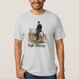 Penny Farthing Vintage Bicycle Bike Cycle Tshirts