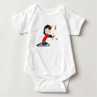 Penny Hugging BOLT Disney Baby Bodysuit