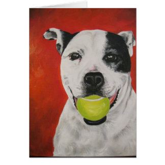Penny the Pit Bull - Card