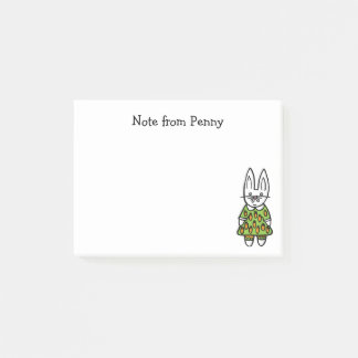 Penny the Rabbit Post-it Notes