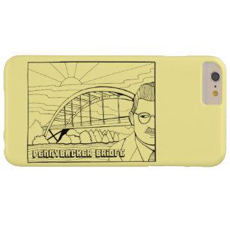 Pennybacker Bridge Line Art Design Barely There iPhone 6 Plus Case