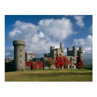 Penrhyn Castle, Gwynedd, Wales Postcard