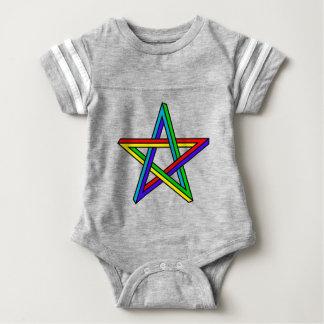 Penrose_pentagram Baby Bodysuit