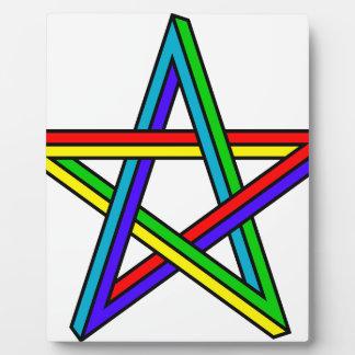 Penrose_pentagram Plaque