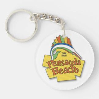 Pensacola Beach Keychain