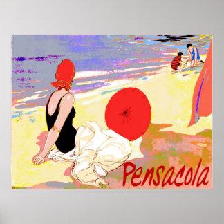 Pensacola Beach Poster