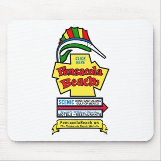 Pensacola Beach Sign Mousepad