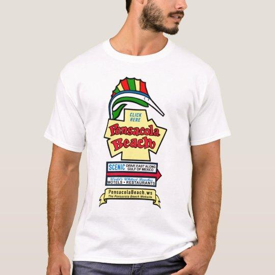 Pensacola Beach Sign T-Shirt