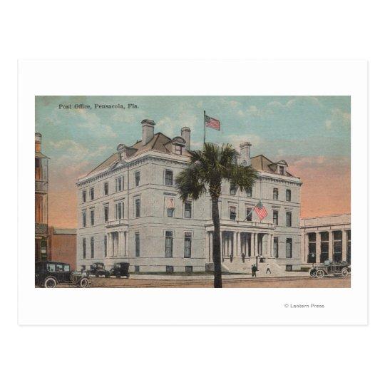 Pensacola, Florida - Exterior View of Post Postcard