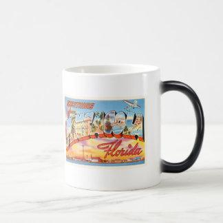 Pensacola Florida FL Old Vintage Travel Souvenir Magic Mug